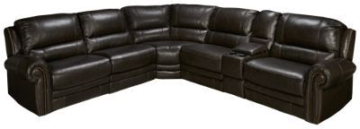 HTL Furniture-Boddington -HTL Furniture Boddington 6 Piece Leather Sectional - Jordanu0027s Furniture  sc 1 st  Pinterest : htl leather sectional - Sectionals, Sofas & Couches