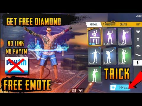 How To Get All Emote Pet Bundles And Diamonds In Free Fire New Trick To Get All Emote And Bundle Free Fi In 2020 New Tricks Free Gift Card Generator Diamond Free