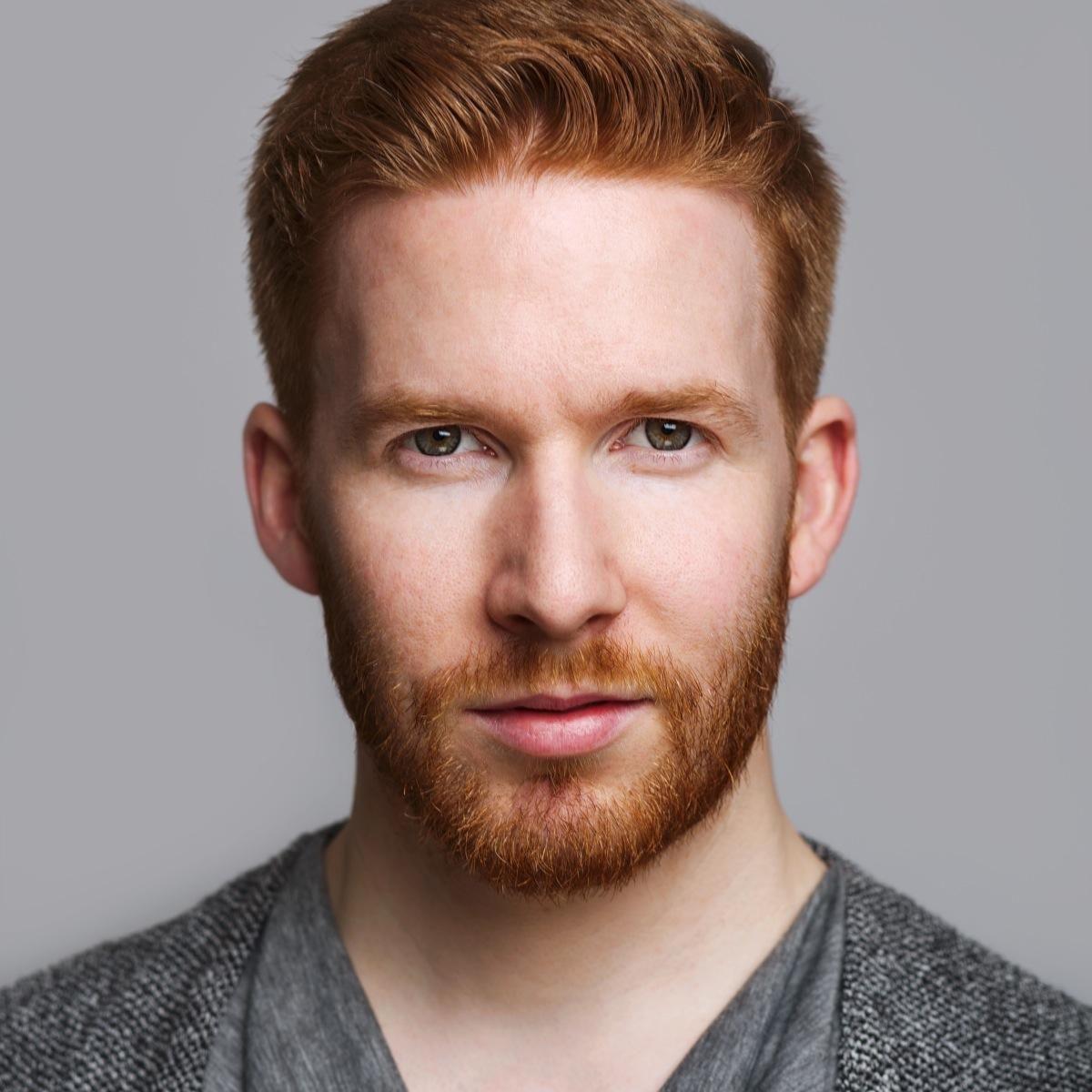 Neil Jones His Hair Eyebrows Moustache And Beard Red Hair