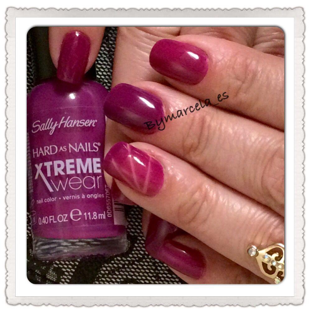 Sally Hansen (pep-plum) | Nails | Pinterest | Sally hansen and Sally