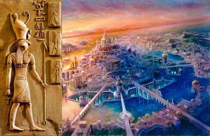 Risultati immagini per Ancient Egyptians, Atlantide