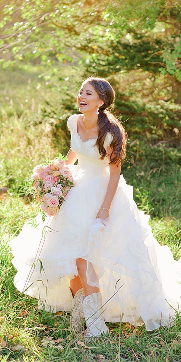 27 bridal inspiration: country style wedding dresses | wedding