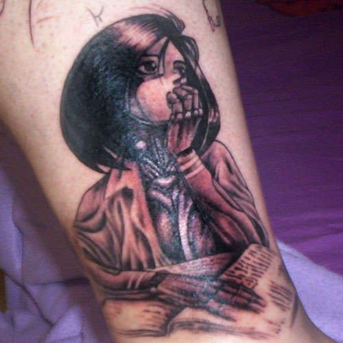 Gorgeous Tattoo Ripped Straight From The Greatest Manga Of All