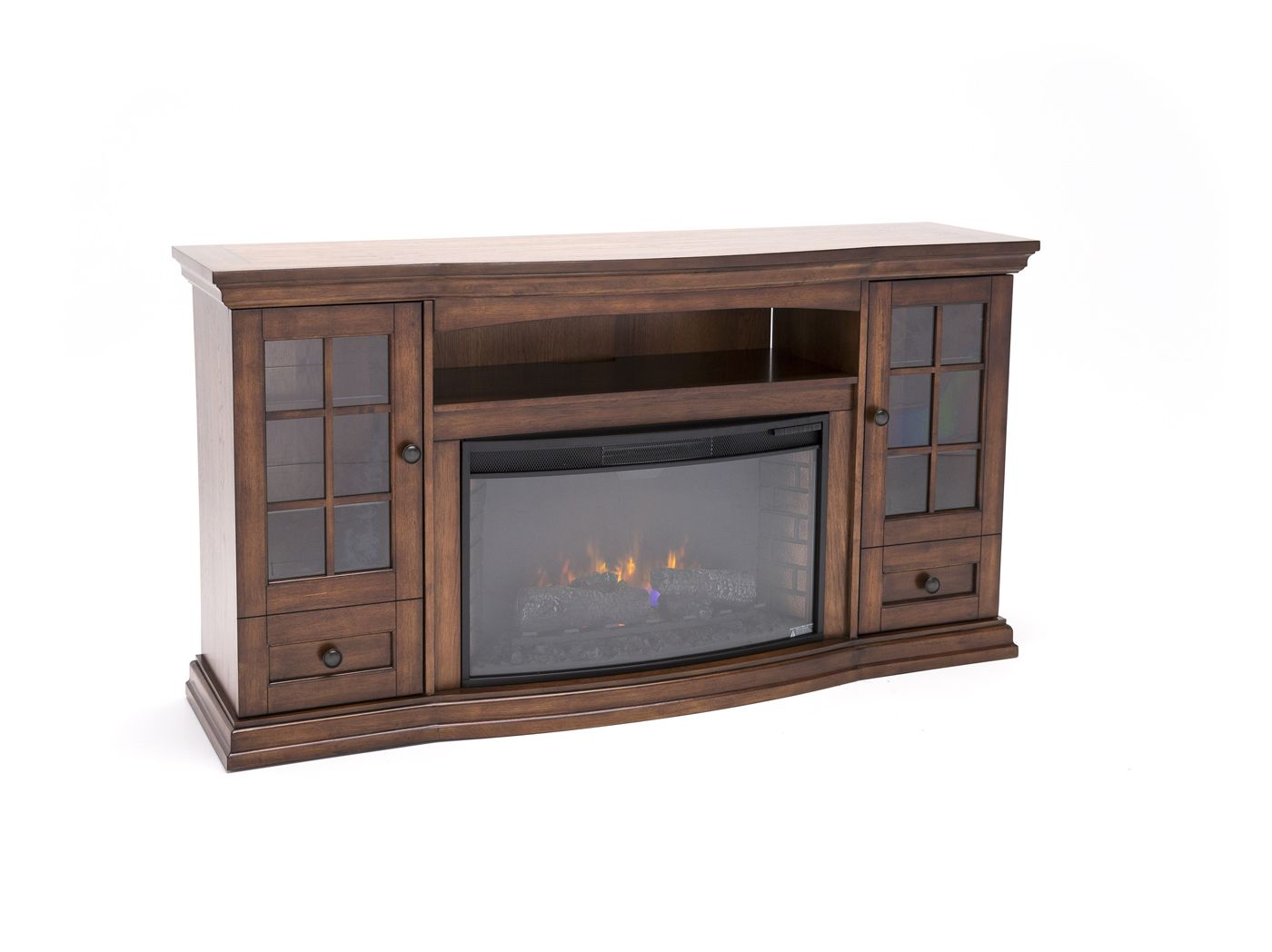 Twin-Star ClassicFlame Seagate Fireplace Console #steinhafels