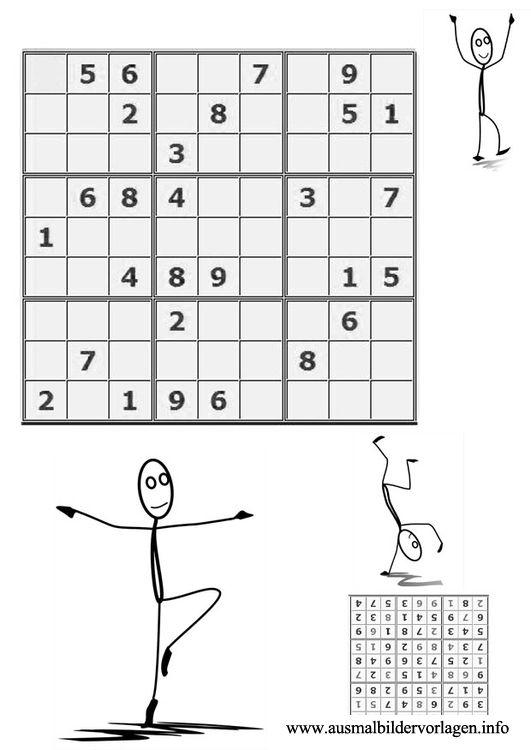ausmalbilder sudoku kostenlos malvorlagen windowcolor zum