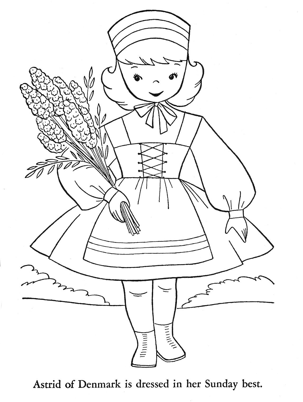 cultural coloring pages - photo#15