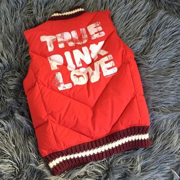 Victoria secret puffer vest Victoria secret puffer vest. Great condition PINK Victoria's Secret Jackets & Coats Vests