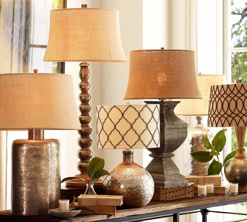 Those lamps and love the shades!!!
