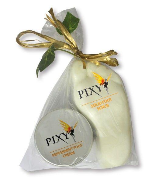 foot scrub and cream- Gift Set Pixy Pedi