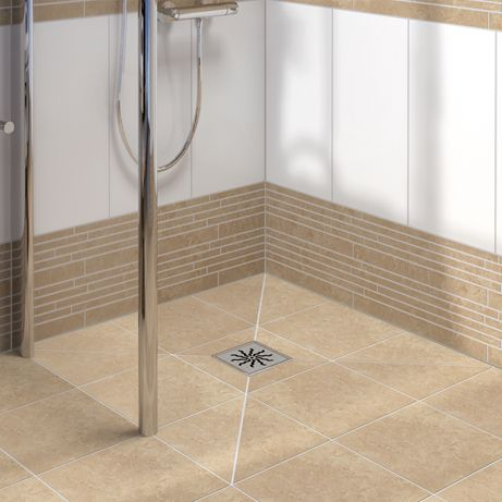 LUX ELEMENTS®TUB Flush with the floor shower bases