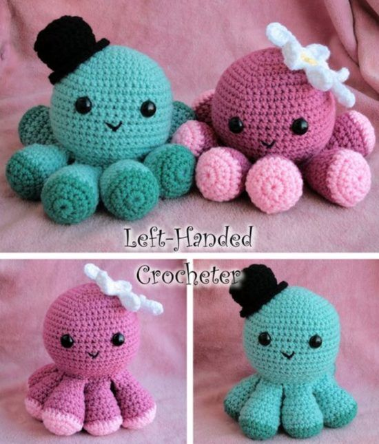 Crochet Jellyfish Pattern Ideas {Video | Crochet baby toys | Octopus