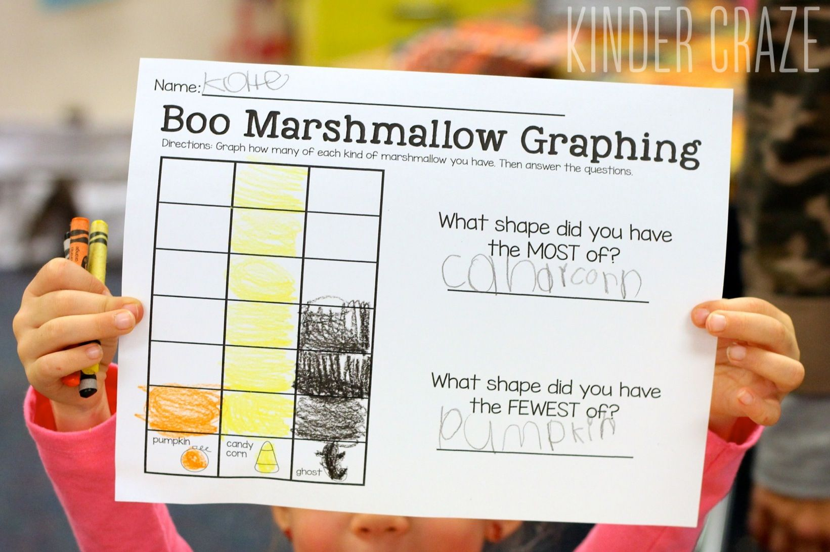 Halloween Marshmallow Graphing Freebie And Fun