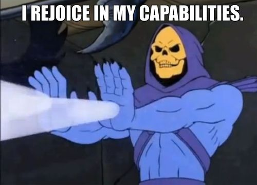 Heal yourself skeletor