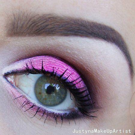 Pink Eyeshadow - #eyemakeup #eyeshadow #pinkshadow #eyes #makeup #justynamakeupart - bellashoot.com