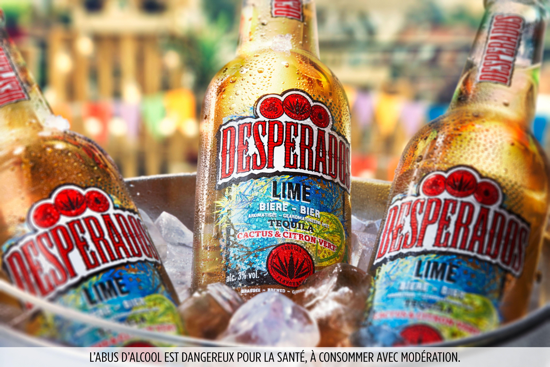Decouvrez La Desperados Lime Biere Aromatisee Tequila Citron Vert Et Cactus En 2020 Tequila Biere Desperados Biere