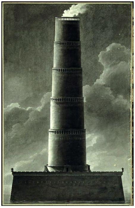étienne Boullée: Fanal (farol), 1781