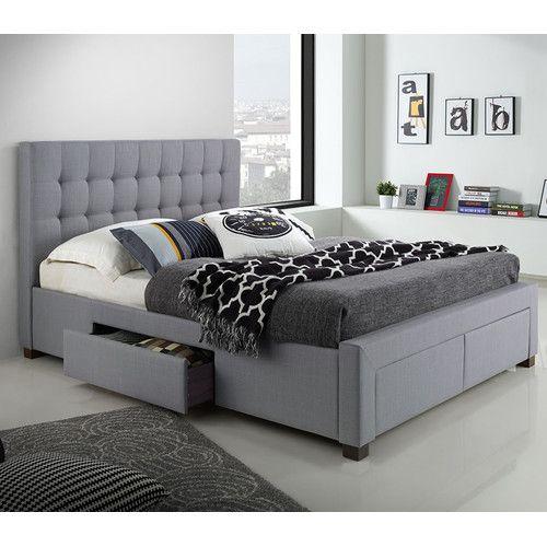 Best Red Barrel Studio® Gettinger Queen Platform Bed 400 x 300