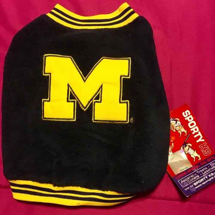 Michigan Wolverines NCAA Dog Jacket XS Mercari Anyone