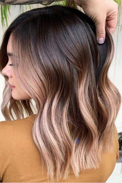Rx 1911 Hair Color Trends 2020 Blushed Chocolate Brown Brownhair In 2020 Short Hair Color Summer Hair Color Winter Hair Color