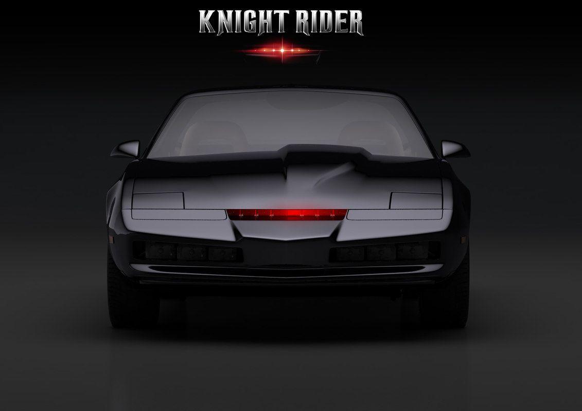 Knight Rider 3d Model Knight Rider Knight Rider
