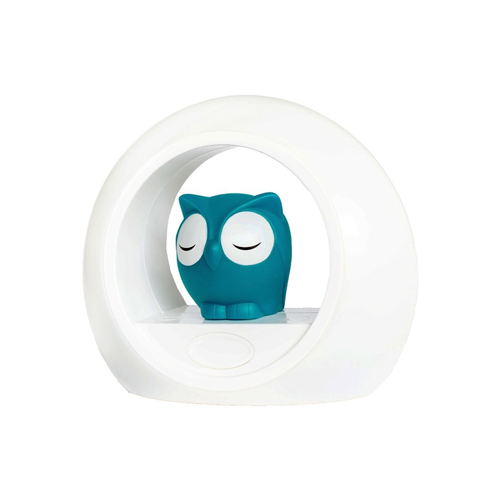 ZAZU Lou the Owl Night Light - Blue | Buy Kids Bed Time Light Nursery Bedroom