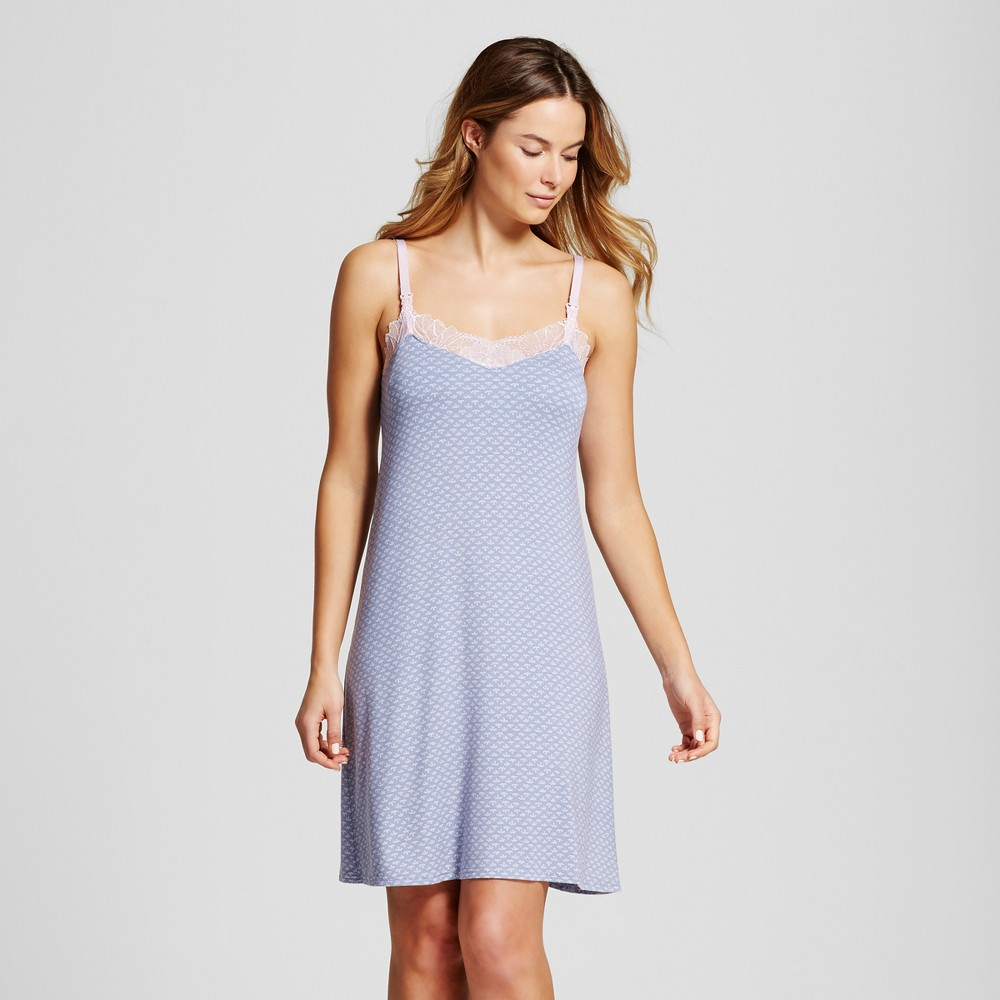 d1eb1fd272b Snooze in style and comfort in the Women's Nursing Sleep Gown - Gilligan  and O'Malley. This spacious super-soft maternity chemise offers an easy  pull-down ...