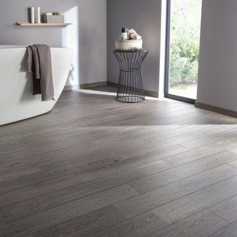 Carrelage sol et mur gris effet bois prague x cm carrelage pinterest murs gris - Cuisine bois carrelage gris ...