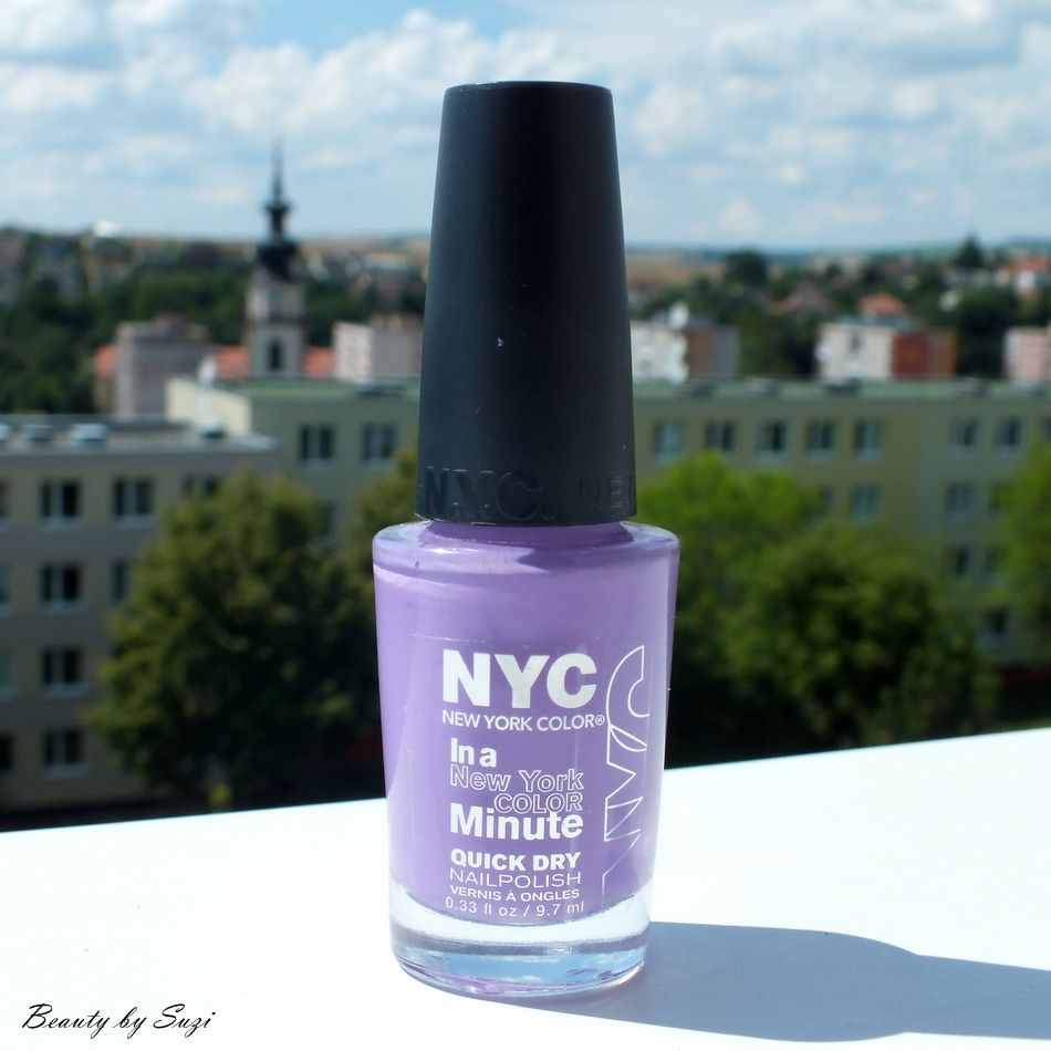 NYC In New York Color Quick Dry Nail Polish, 355 Lavender Blossom