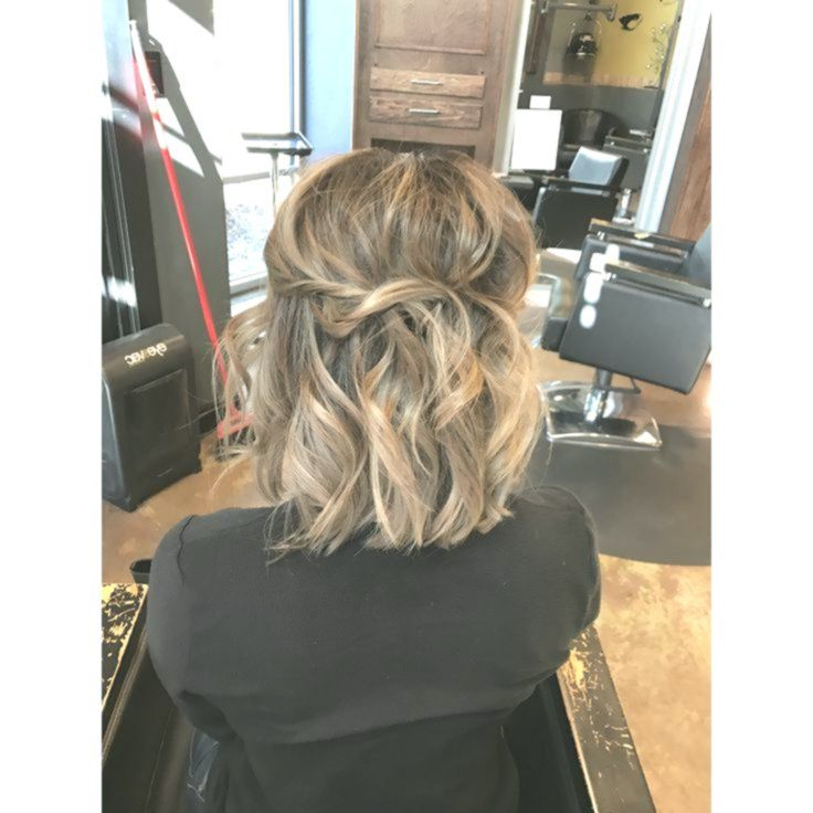 Pin On Half Up Prom Hair
