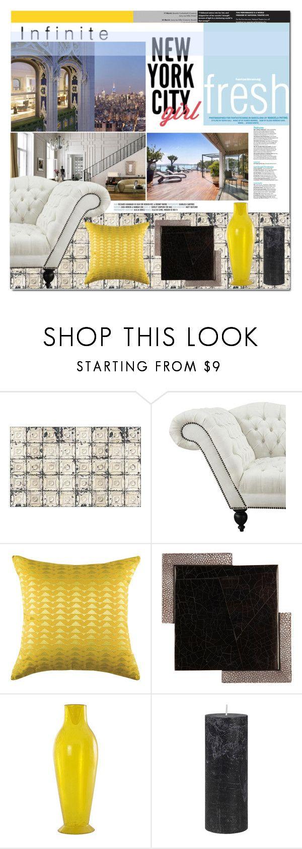Infinite skies by yoa316 on Polyvore featuring interior, interiors, interior design, home, home decor, interior decorating, Ginger Brown, KAS, Kartell and DAY Birger et Mikkelsen