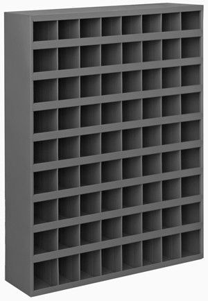Model 363 95 12 Inch Deep 72 Bin Cabinet Metal Storage Racks Self Design Cold Rolled