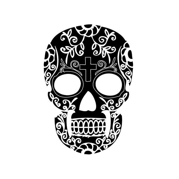 tatouage,ephemere,tete,de,mort,pas,cher 600