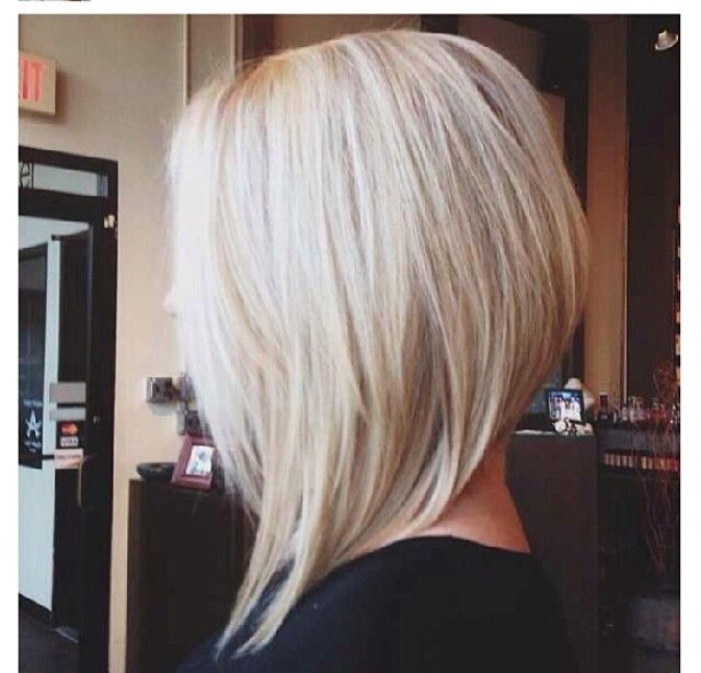 Best 25 Blonde Angled Bob Ideas On Pinterest Long