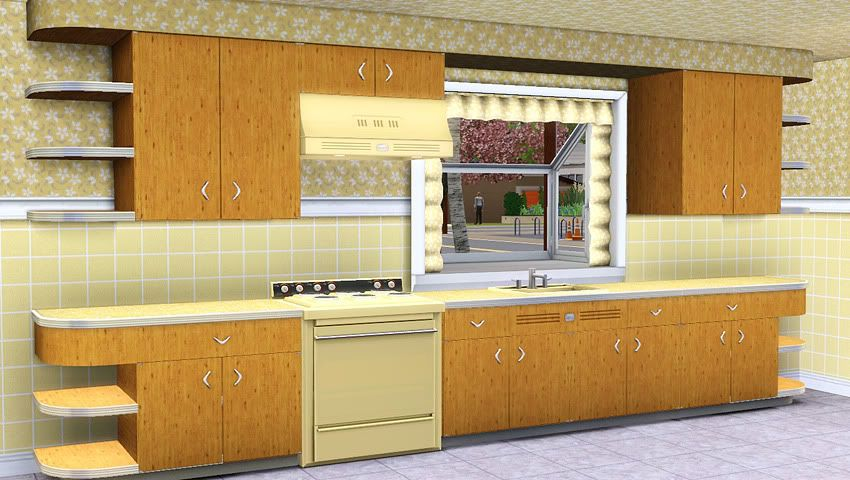 Awesims geneva kitchen free sims 3 downloads by awesims for Sims 3 kitchen designs