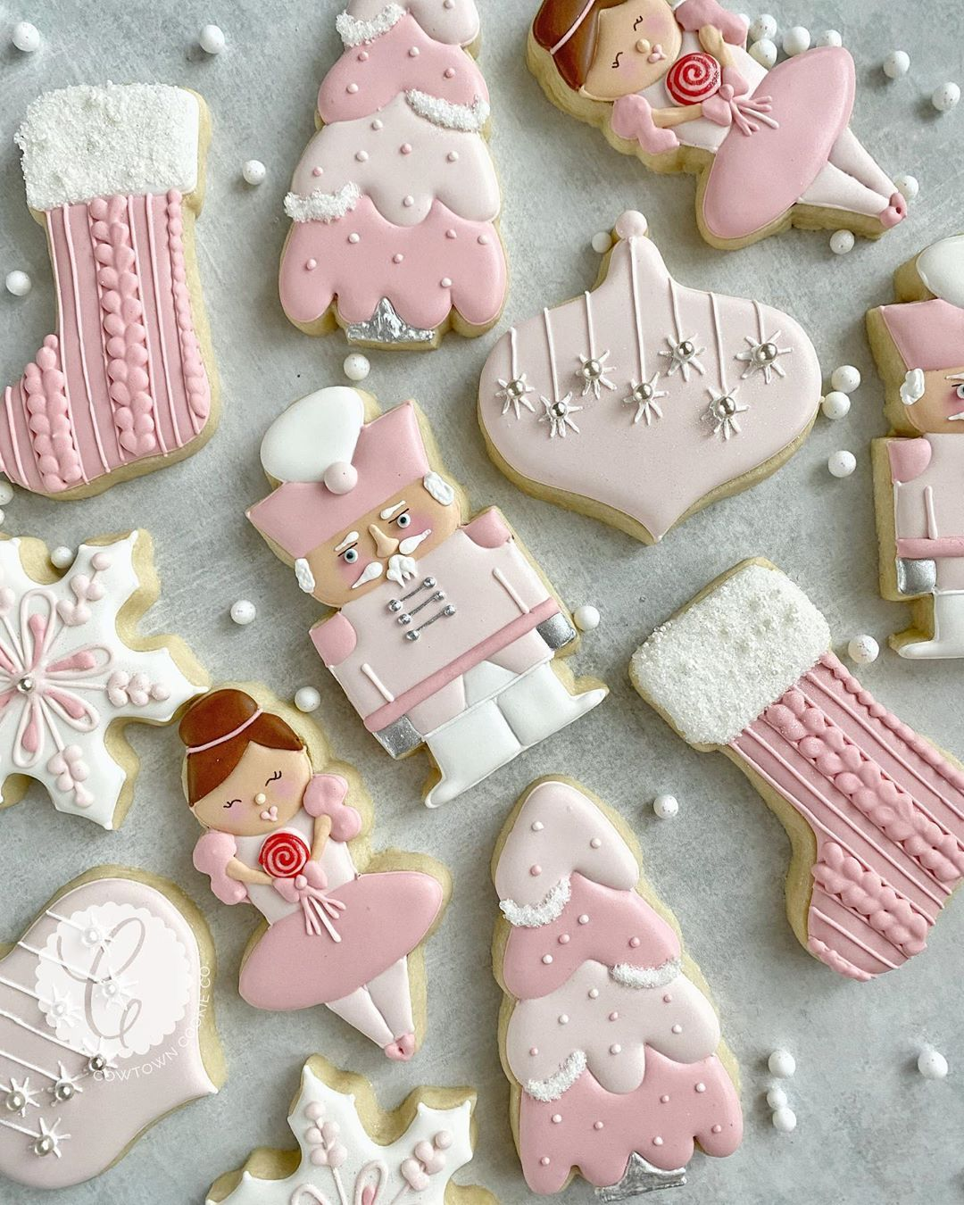 "Cowtown Christmas 2020 Cowtown Cookie Co. on Instagram: ""I'm dreaming of a pink Christmas"