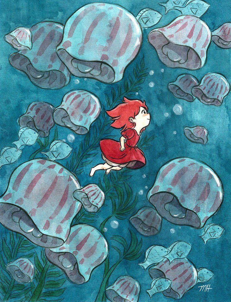 """Michelle Hiraishi """"Child of the Sea"""" Estudio ghibli"""