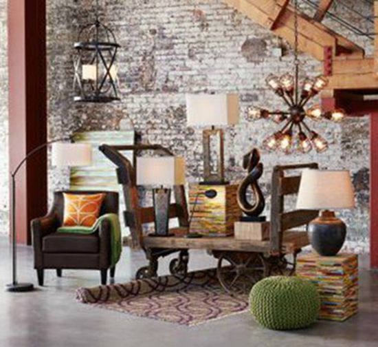 Captivating An Industrial Chic Interior Doesnu0027t Require Steel Columns, Exposed Beams Or  Brick To Work.