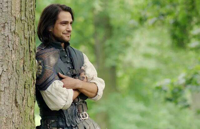 D'Artagnan - New S3 pic - Courtesy of Jessica Pope - property of the BBC.
