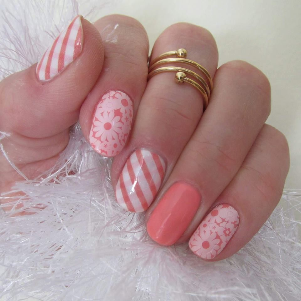 Picnic Party - Crushing on Coral TruShine Gel Enamel - Jamberry ...