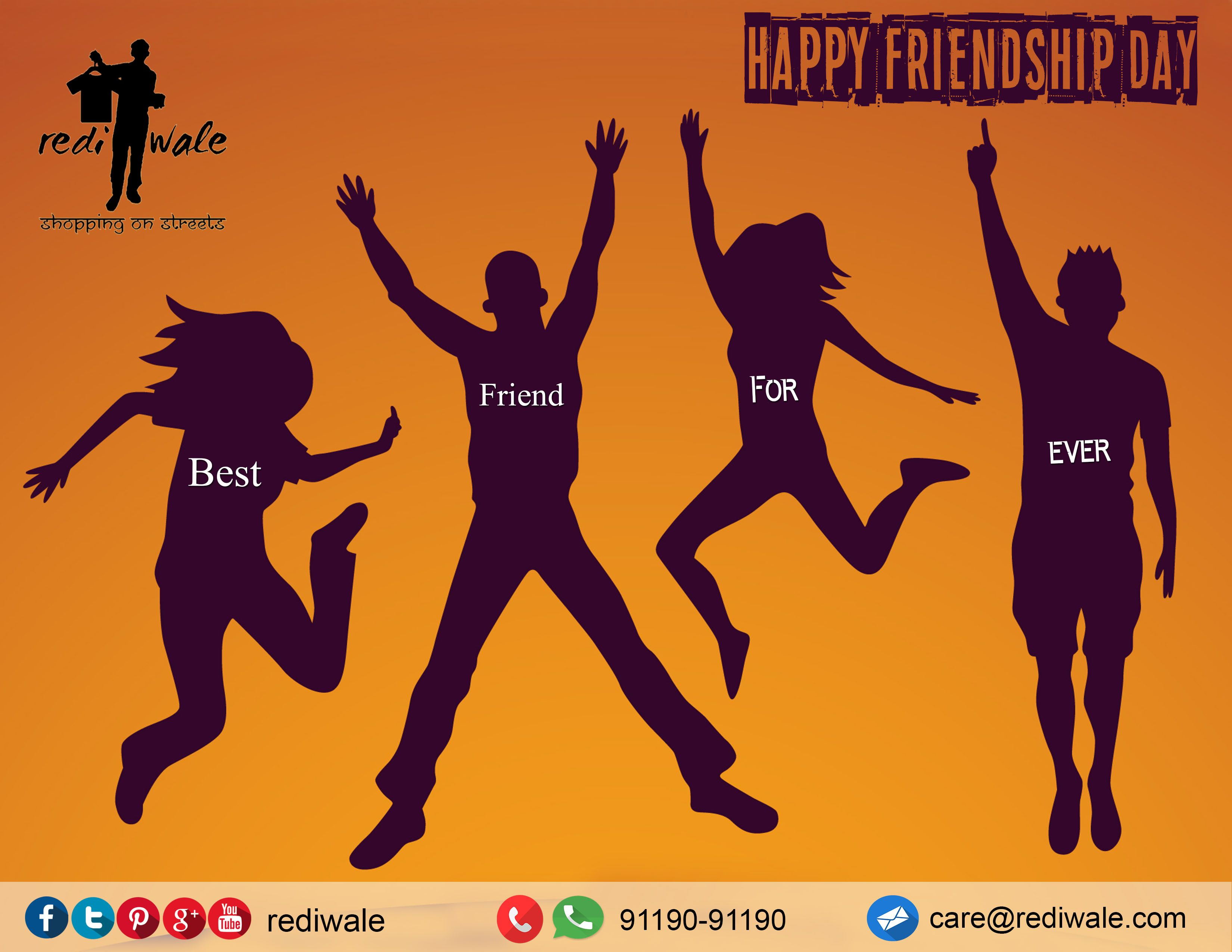 Rediwale Wishes Happyfriendshipday To Our Best Friends Who Are