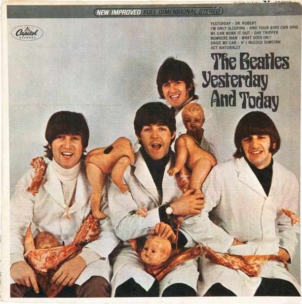 Beatles butcher cover third state celebrities pinterest the beatles butcher cover poster yesterday today original album cover lp malvernweather Gallery