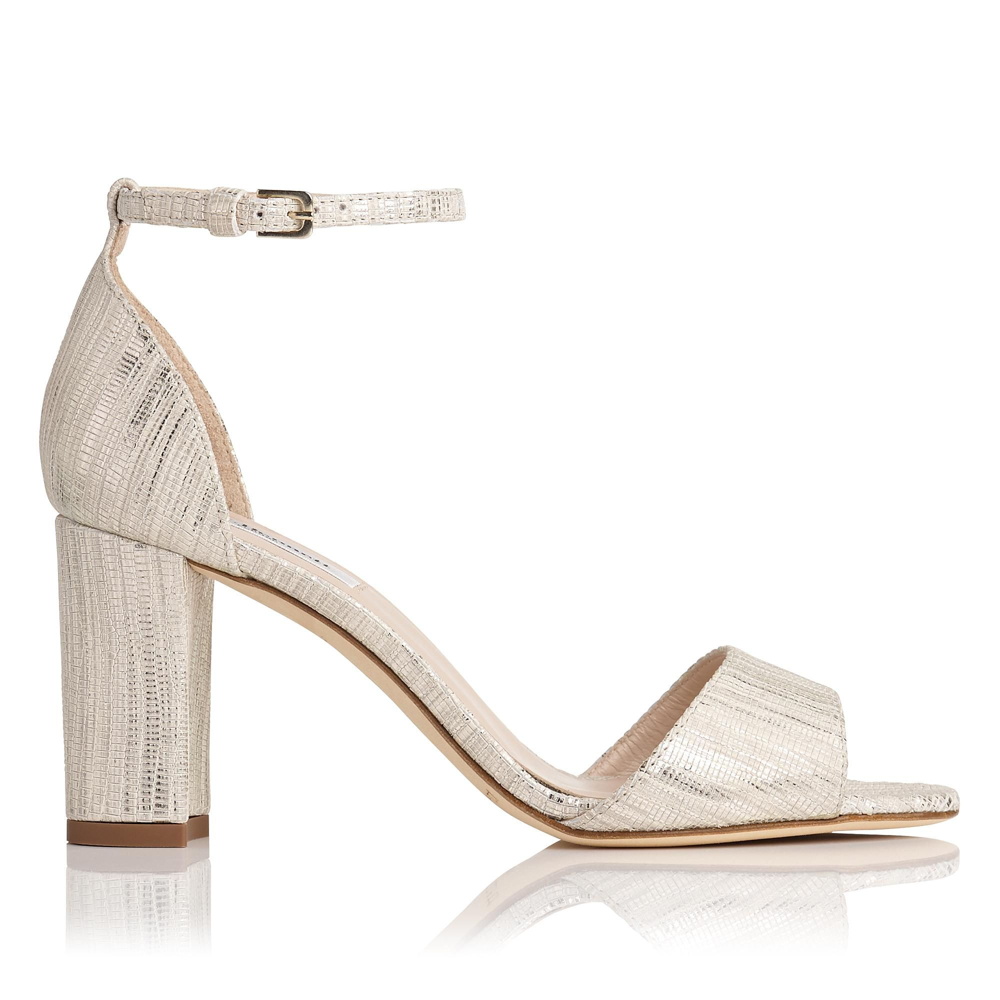LK Bennett HELENA - High heeled sandals - soft gold pAFeh7