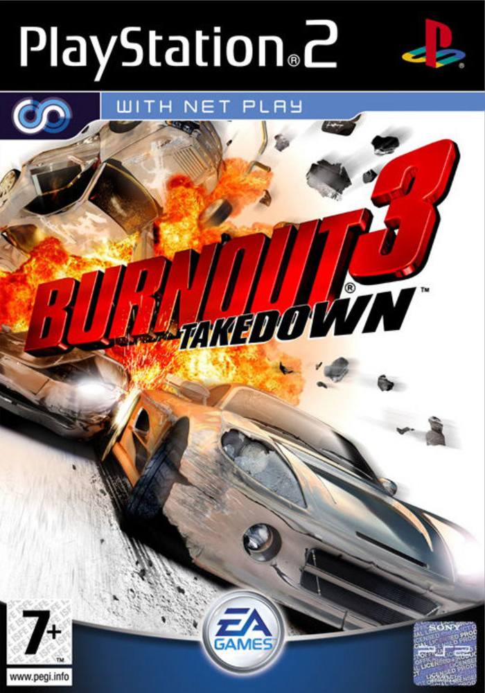 Burnout 3 Takedown Ps2 Descarga Juegos Juegos Ps2 Imagenes De Video Juegos