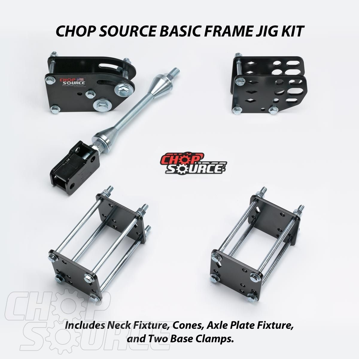 Chop Source Basic Frame Jig Kit Basic Frames Welding Jig Welding