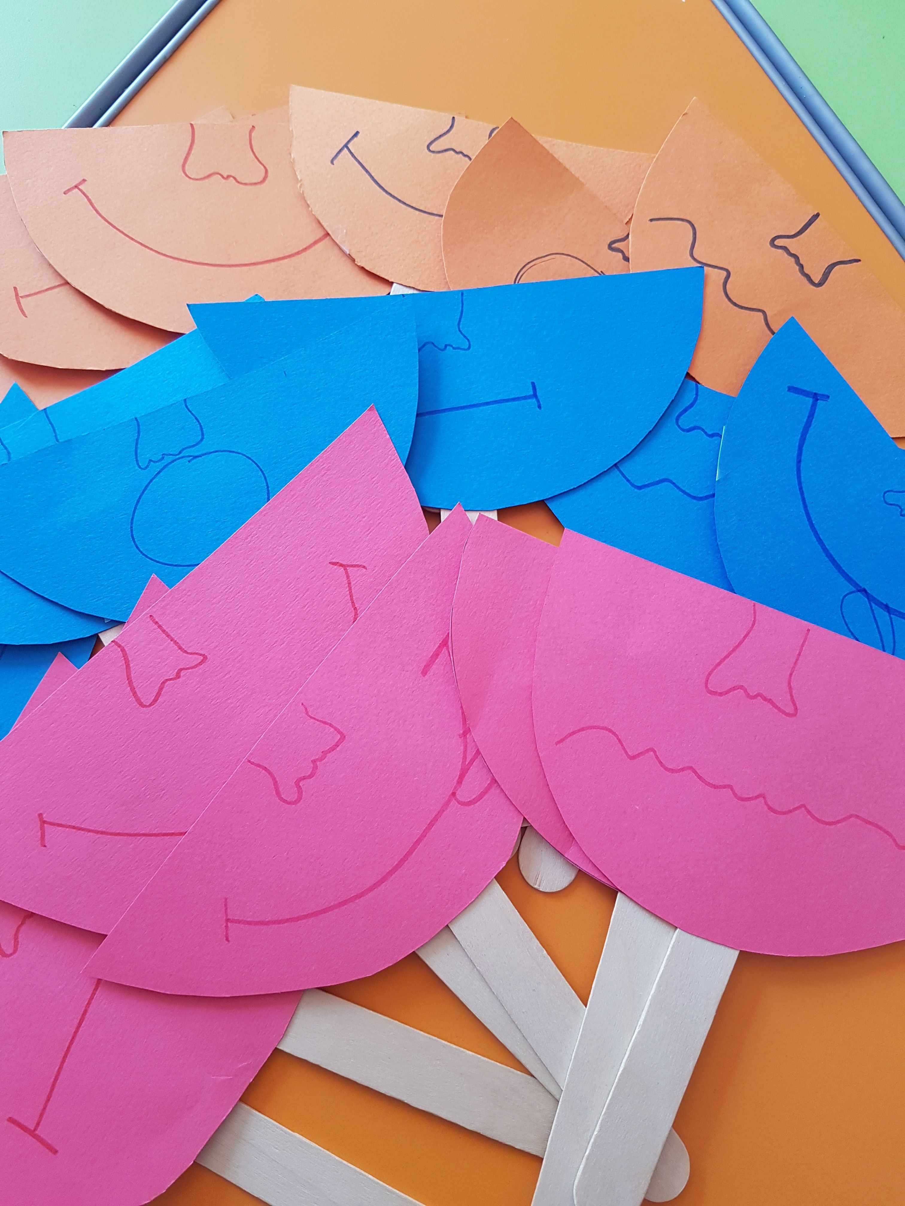Emotion Masks For Kids