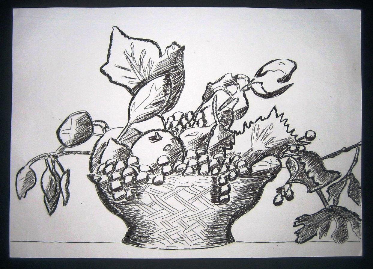 Risultati Immagini Per La Canestra Di Frutta Da Colorare Scuola