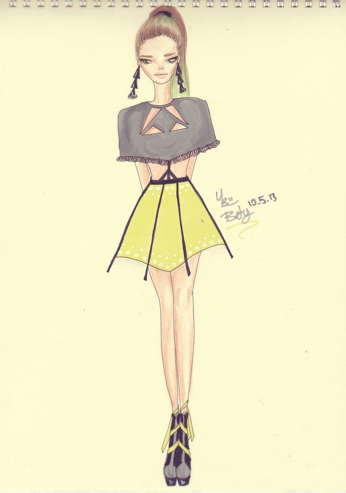 04e7a1392e83d Bence çok hoş yazın giyebilirsiniz Dikiş Patronları, Moda Karalamaları,  Moda Çizimleri, Etekler,