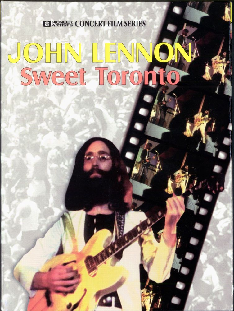 John Lennon & The Plastic Ono Band - Live In Toronto '69 DVD (1969)