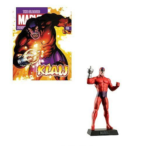 MAGAZINE CLASSIC MARVEL FIGURE COLLECTION ISSUE 130 KLAW EAGLEMOSS FIGURINE