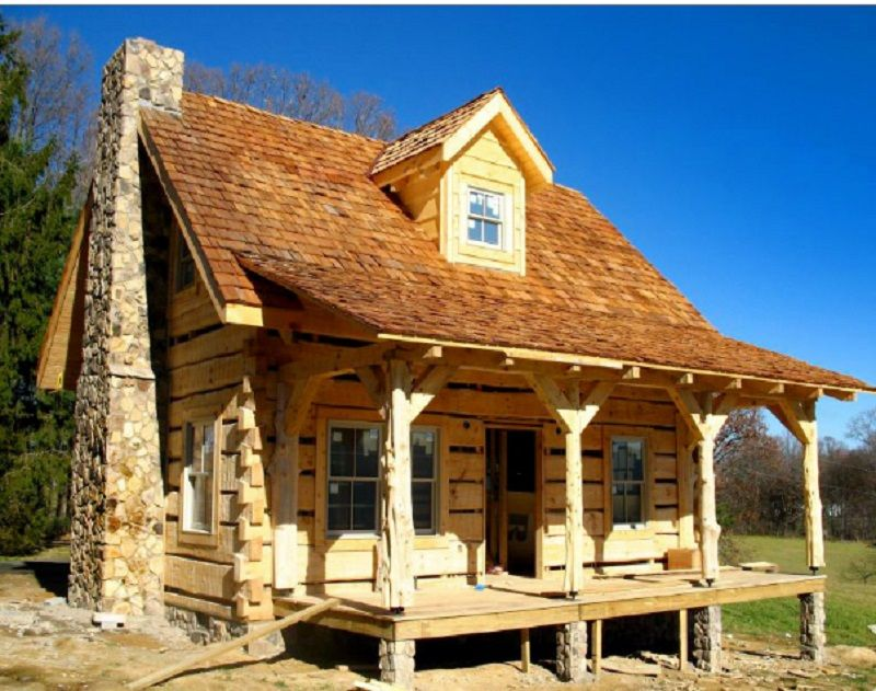 Wow We Love This Cottage Small Log Cabin Log Cabin Designs Cabin Floor Plans